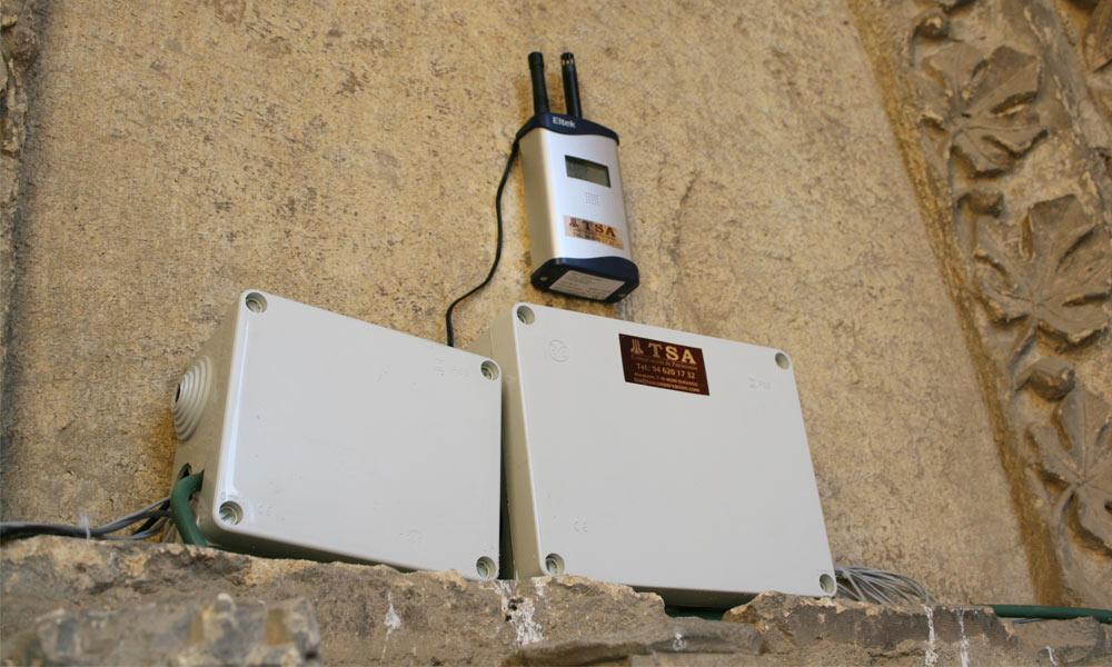 Suministro de sistemas y aparatos de monitorización de factores ambientales