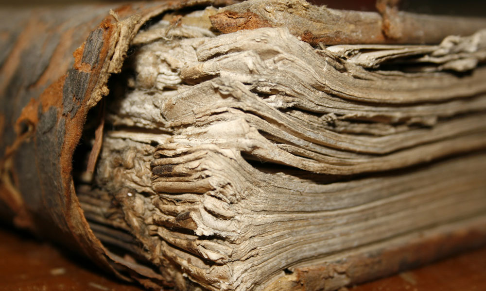 Conservación de Libros y Documentos