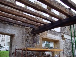 Reconstrucción de estructuras de madera